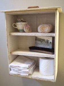 drawer, shelf ideas, shabby chic
