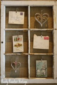 picture frame, repurpose window