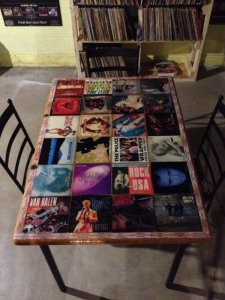 Records, music, table top ideas