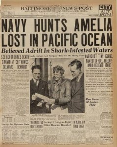 Historic, newspaper, antique paper, amelia