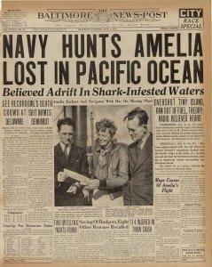 Historic, newspaper, antique paper, amelia