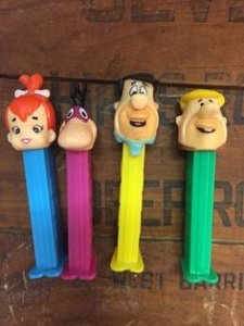 Pez dispensers, Flintstones pez