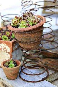 Mattress, Flower pot, garden ideas