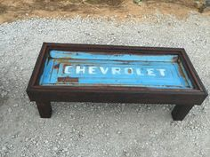 Chevrolet, repurpose tailgate, tailgate table